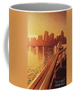 Coffee Mug featuring the painting Vancouver Morning- Bc by Ryan Fox