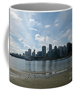 Vancouver Skyline 2015 At Stanley Park II Coffee Mug by Connie Fox