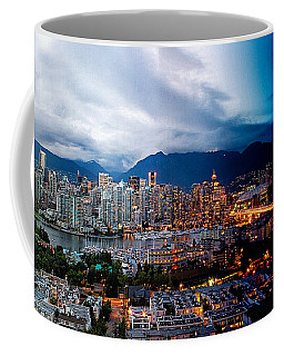 Vancouver Skyline - 4 Hours Coffee Mug