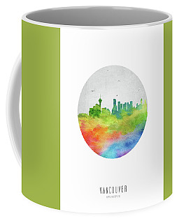 Vancouver Skyline Cabcva20 Coffee Mug