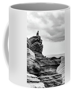 Coffee Mug featuring the photograph Vantage Point by Nick Bywater