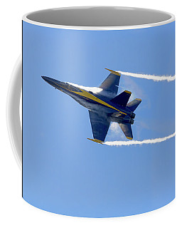Vapor Trails - Blue Angel 2 Coffee Mug