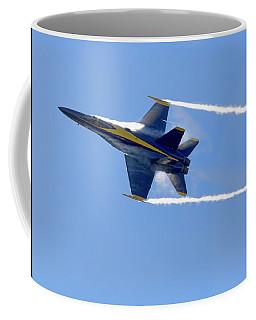 Vapor Trails - Blue Angel 2 Coffee Mug