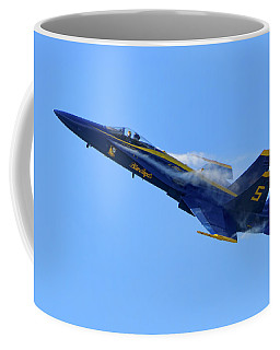 Vapor Trails Of Blue Angel 5 Coffee Mug