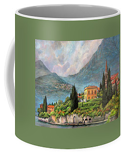 Varenna Italy Coffee Mug by Donna Tucker