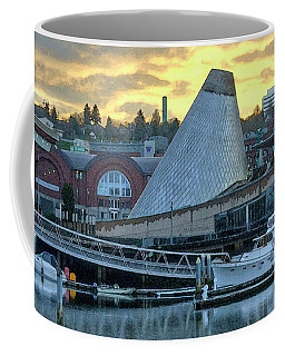 Coffee Mug featuring the photograph Variation On A Cloudy Twilight by Chris Anderson