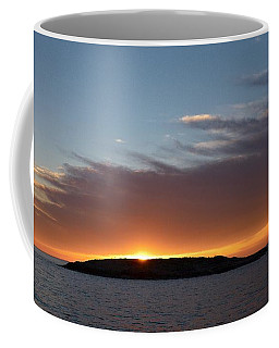 Coffee Mug featuring the photograph Variations Of Sunsets At Gulf Of Bothnia 1 by Jouko Lehto