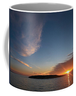 Coffee Mug featuring the photograph Variations Of Sunsets At Gulf Of Bothnia 2 by Jouko Lehto