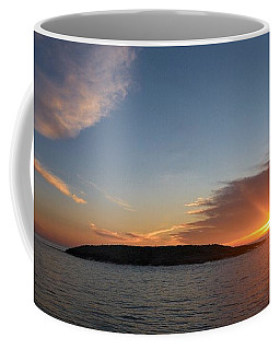Coffee Mug featuring the photograph Variations Of Sunsets At Gulf Of Bothnia 3 by Jouko Lehto
