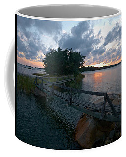 Coffee Mug featuring the photograph Variations Of Sunsets At Gulf Of Bothnia 6 by Jouko Lehto