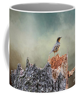 Varied Thrush On A Dead Tree Coffee Mug