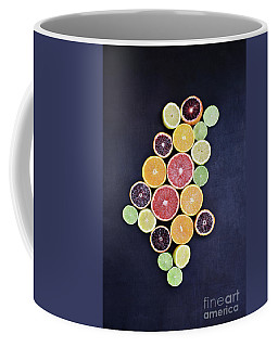 Variety Of Citrus Fruits Coffee Mug by Stephanie Frey