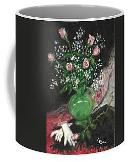 Vase And Gloves Coffee Mug