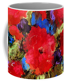 Vase Of Delight-still Life Painting By V.kelly Coffee Mug