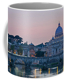 Vatican City At Sunset Coffee Mug
