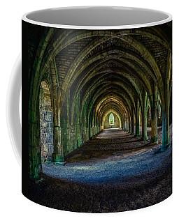 Vaulted, Fountains Abbey, Yorkshire, United Kingdom Coffee Mug