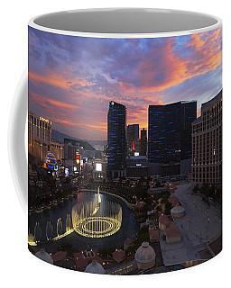 Vegas By Night Coffee Mug