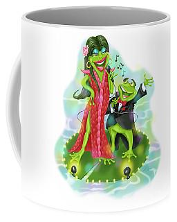 Vegas Frogs Lounge Act Coffee Mug