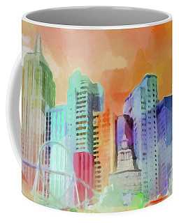 Vegas New York Coffee Mug