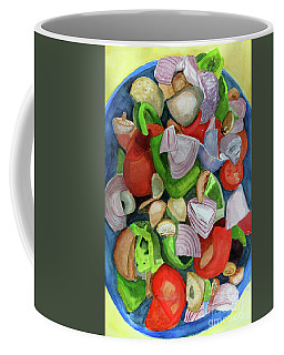 Veggies Coffee Mug by Sandy McIntire