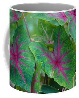Veins Of Life Coffee Mug by Sheila Ping