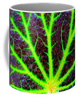 Veins On A Leaf Coffee Mug
