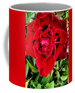 Velvet Red Rose Coffee Mug
