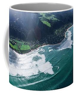 Velzy Land And Sunset Point Coffee Mug