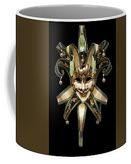 Venetian Mask Coffee Mug