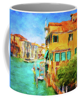 Coffee Mug featuring the photograph Venezia Afternoon by Connie Handscomb
