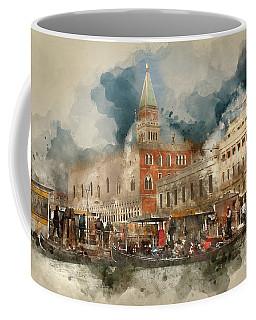 Venezia San Marco Coffee Mug by Jack Torcello