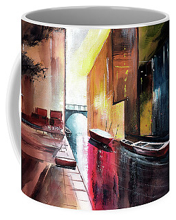 Coffee Mug featuring the painting Venice 1 by Anil Nene