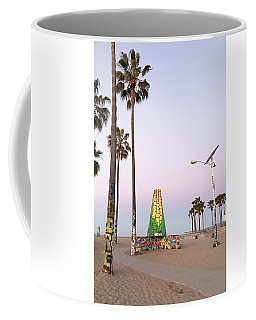 Venice Beach Corn Cob Art Coffee Mug