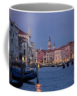 Venice Blue Hour 2 Coffee Mug by Heiko Koehrer-Wagner