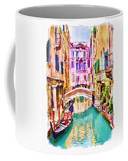 Balcony Mixed Media Coffee Mugs
