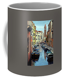 Venice Canal Reflections Coffee Mug