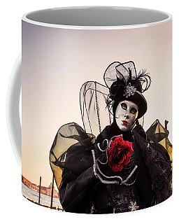 Coffee Mug featuring the photograph Venice Carnival '17 by Yuri Santin