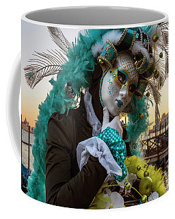 Venice Carnival II '17 Coffee Mug by Yuri Santin