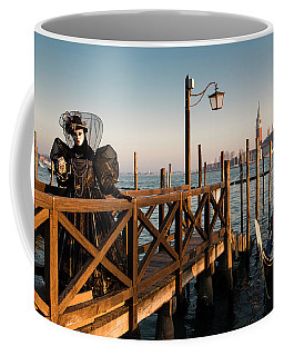 Coffee Mug featuring the photograph Venice Carnival IIi '17 by Yuri Santin