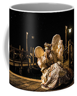 Coffee Mug featuring the photograph Venice Carnival V '17 by Yuri Santin