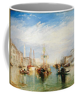 Coffee Mug featuring the painting Venice From The Porch Of Madonna Della Salute By Turner by William Turner