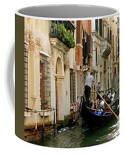 Venice Gondola Coffee Mug by Teresa Tilley