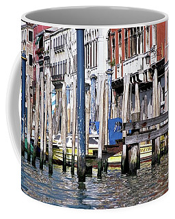 Coffee Mug featuring the photograph Venice Grand Canal by Allen Beatty