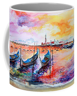 Venice Italy Gondola Ride Coffee Mug