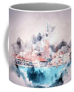 Venice Italy Watercolour Coffee Mug