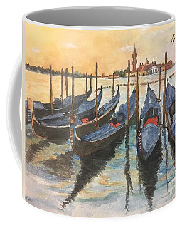 Coffee Mug featuring the painting Venice by Lucia Grilletto