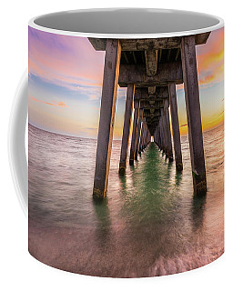 Coffee Mug featuring the photograph Venice Pier by Expressive Landscapes Fine Art Photography by Thom
