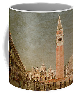 Coffee Mug featuring the photograph Venice, Italy - Piazza San Marco by Mark Forte