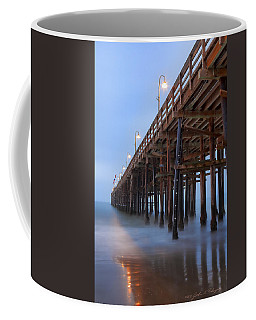 Ventura Ca Pier At Dawn Coffee Mug