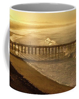 Ventura, Ca Pier At Sunrise Coffee Mug